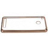 Plated TPU bamper for RedMi 3S Gold