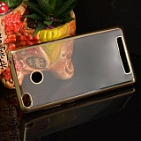 Plated TPU bamper for Red Mi 3S Gold
